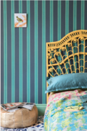Farrow and Ball Block Print Stripe Behang