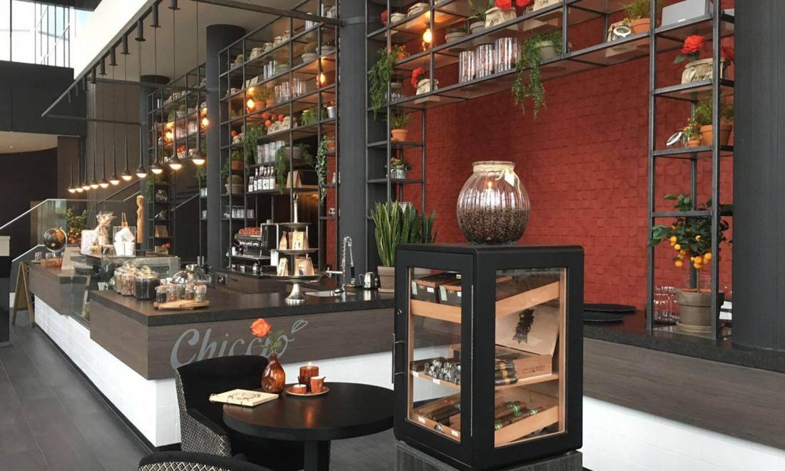 Arte Select behang 30522 behang Van der Valk Tiel blokjes behang