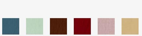 Verkrijgbaar in onderstaande kleurstellingen