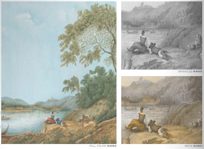 Iksel Pillement Landscape in 3 verschillende kleuren verkrijgbaar