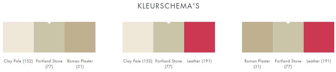 77 little green portland stone kleurschema