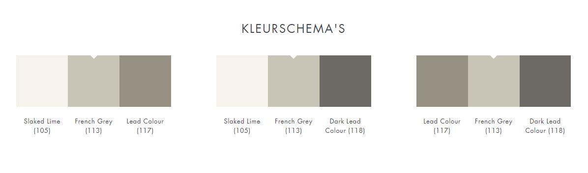 Kleurschema Little Greene French Grey