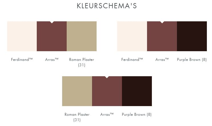 little greene arras verf 316 kleurcombinaties