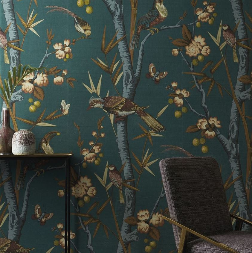 NOBILIS Grand Angle behang collectie NOBILIS Josephine behang chinoiserie Luxury By Nature
