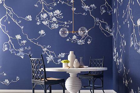 Phillip Jeffries Blossom behang papier en muurbekleding