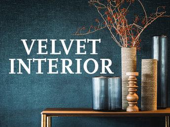 Velvet Behang Velours