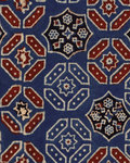 Mind the Gap Ajrak Behang The Home Of An Eccentric Man Behang Collectie WP20412