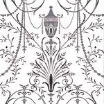 Little Greene Marlborough Behang Glace London Wallpapers V