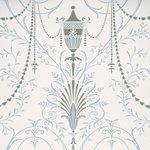 Little Greene Marlborough Behang Crystal  London Wallpapers V