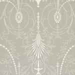 Little Greene Marlborough Behang London Wallpapers VParis Grey