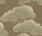Behang Little Greene Pines golden pine 20th Century Papers Collectie Luxury By Nature