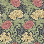 Behang William Morris Chrysanthemum Morris & Co 212549