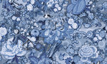 Moooi Rendezvous Tokyo Blue Behang MO3012 MING BLUE