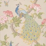Little Greene Pavona Behang Peacock National Trust PapersHazel