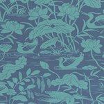 GP & J Baker Heron & Lotus Flower Behang Signature Wallpapers 2 BW45089/4