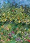 matthew williamson Orange Grove behang w7493-01 tropisch behang groot