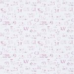 little sanderson alpabet zoo roze