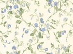 behang cole and son sweet pea blue