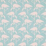 behang sanderson flamingos 214569 vintage 2 behangpapier