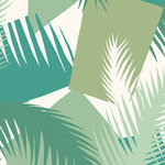 behang cole and son deco palm 105-8037 geometric ii luxury by nature