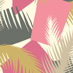 behang cole and son deco palm 105-8038 geometric ii luxury by nature