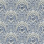 Behang Ralph Lauren Crayford Paisley  PRL034-01 Porcelain  luxury by nature