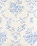 Behang Ralph Lauren Saratoga Toile Bluebell PRL033-02 Luxury By Nature PRL033-02