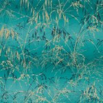 Behang Harlequin Meadow Grass 111404 ocean - peacock Callista collectie luxury by nature
