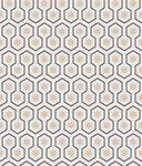 Cole and Son Hicks Hexagon 95/3016 behang Luxury By Nature
