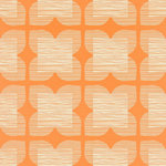 flower tile orla kiely behang luxury by nature