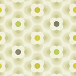 multi striped petal orla kiely behang luxury by nature