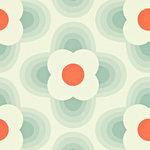 Harlequin, striped petal, orla kiely,110404,