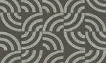 Arc 47511 tegelpatroon ronde vorm bruin groen Luxury by nature