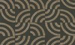 Arc 47513 tegelpatroon ronde vorm grijs groen