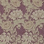 Behang William Morris Chrysanthemum Morris & Co 212548