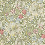 William Morris Golden Lily behang Morris & Co Archive 210398