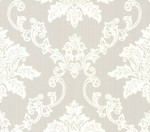 Hampton Behang 1838 Wallcoverings Rosemore Collection 1601-106-05 Grey