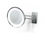 Make-up Spiegel BS 36 Wandmodel LED 3x Chroom
