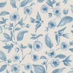 Sanderson bird blossom behang luxury by nature