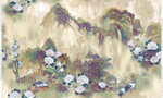Coordonne Kasgar Behang Random Chinoiseries Collectie 7900181