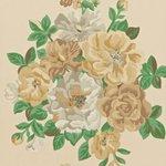 DCAVMI104 Sanderson Behang Caverley Midsummer Rose Forrest 2