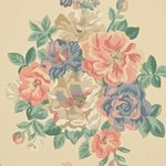 DCAVMI102 Sanderson Behang Caverley Midsummer Rose 2