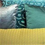 Sahco stof Silk Filia kussen 50x 50cm_