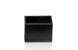 wit leren multi-purpose box opbergdoosje luxe badkameraccessoires decor walther dealer luxury by nature amsterdam