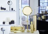 classic badkameraccessoires in goud