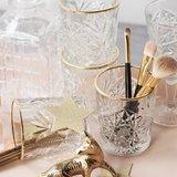 Libbey Hobstar Gold Rim Glas D.O.F. 355 ml