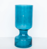 Vaas Blauw Glas Luxury By Nature Boutique