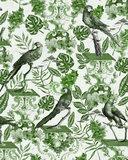 Mind the Gap La Voliere Green Behang WP20438