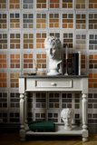 Mind the Gap Traite Des Couleurs Behang The Home Of An Eccentric ManBehang Collectie WP20414