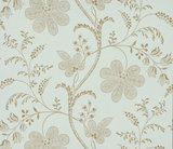 Little Greene Bedford Square Behang Larimar Wallpapers V
